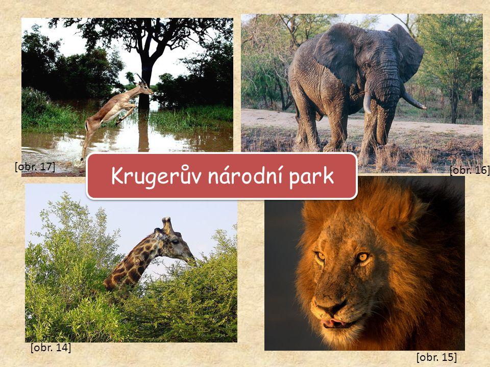 Krugerův národní park [obr. 17] [obr. 16] [obr. 14] [obr. 15]
